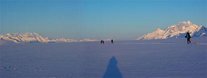 Ледник BAGLEY ICE FIELD