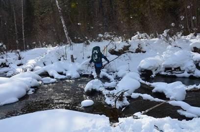 Отчёт о прохождении лыжного спортивного маршрута 4 категории сложности по Алтаю