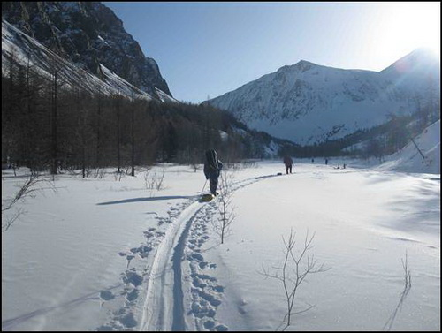 Отчёт о лыжном туристском походе шестой категории сложности в районе Алтая