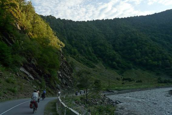 Отчёт о велосипедном спортивном туристском походе пятой категории сложности по Грузии
