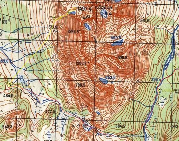 Отчёт о лыжном туристском походе четвёртой категории сложности по Приполярному Уралу