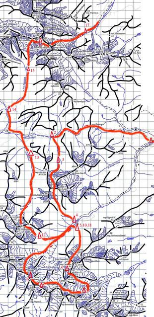 Отчёт о прохождении горного туристского спортивного маршрута четвертой категории сложности по Горному Алтаю
