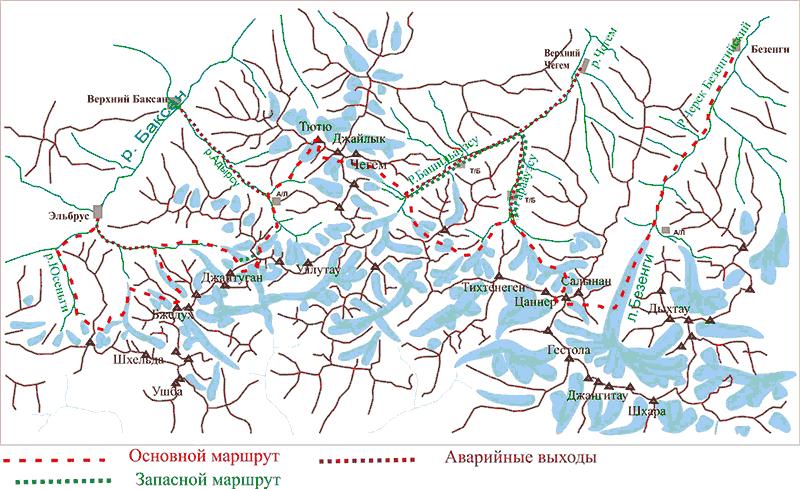 Обзорная карта