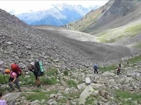 Отчет  о прохождении горного похода первой категории сложности по Приэльбрусью