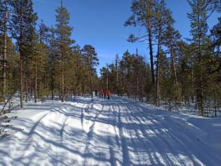 Отчет о лыжном походе по Хибинам