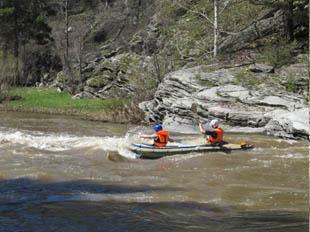 Отчет о водном туристском походе II к.с. по р. Сакмара