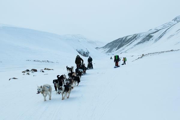 Отчет  о лыжном походе пятой категории сложности в районе архипелага Шпицберген