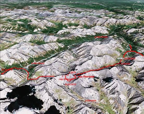 Отчёт о лыжном туристском походе шестой категории сложности в районе Восточного Саяна